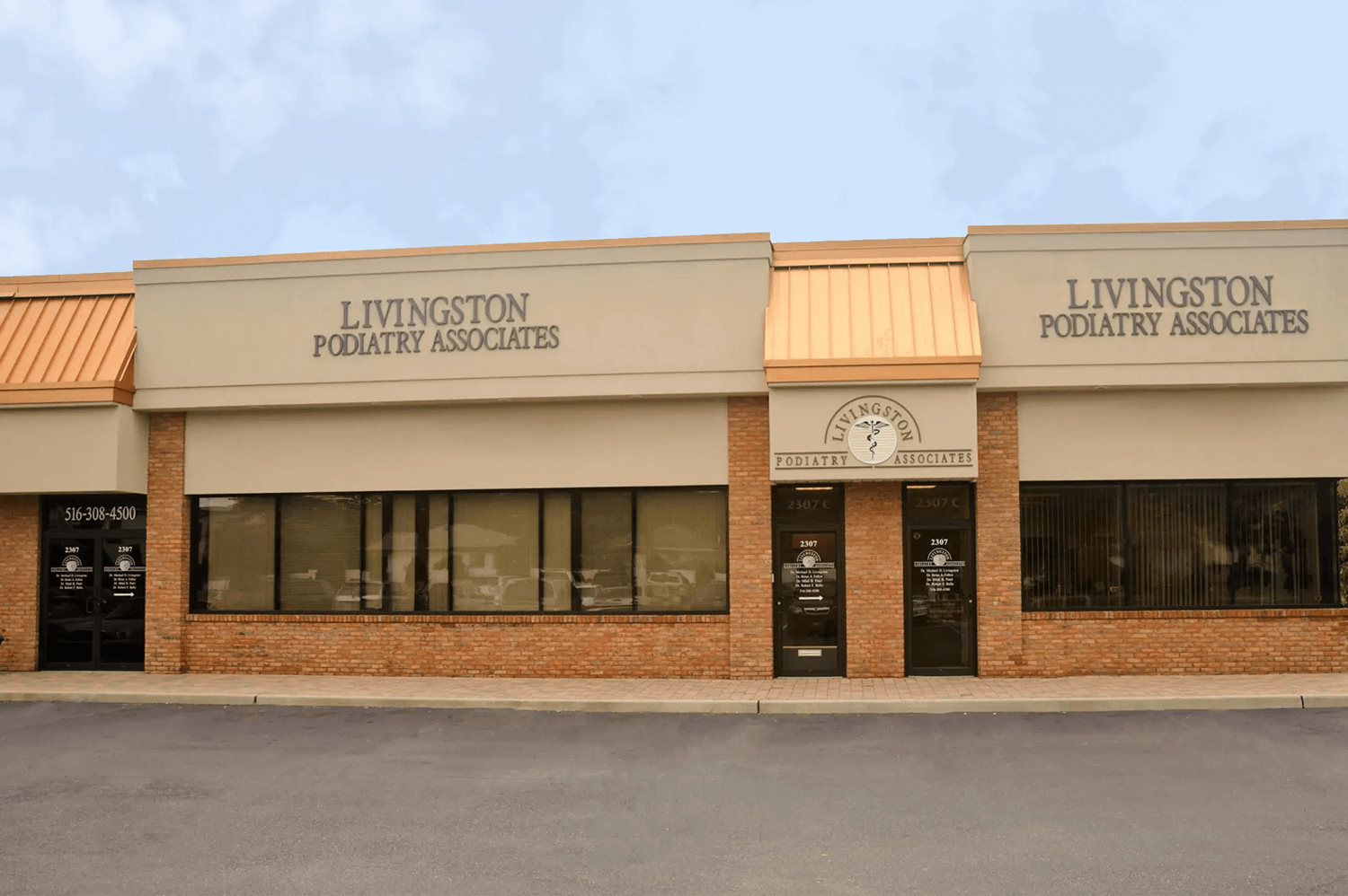 Outside view of Livingston Podiatry Associates